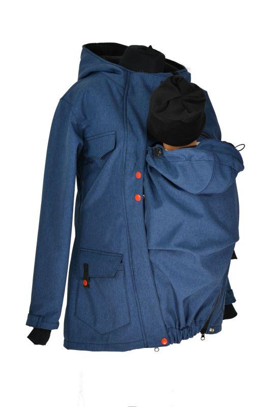 Softshellový nosící kabát jaro podzim acaaab68f9